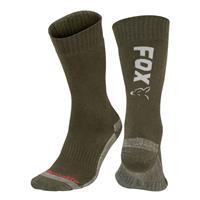 FOX Green/Silver Thermolite Long Sock - Maat 40-43