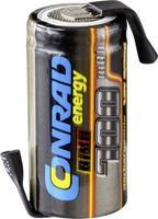 Conrad energy Accucel NiMH 2/3 AA 1.2 V 700 mAh Met soldeerlip