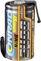 Conrad energy Accucel NiMH Sub-C 1.2 V 2400 mAh Met soldeerlip