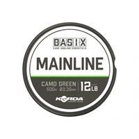 Korda Basix Mainline - Nylon Vislijn - 12lb - 0.35mm - 500m