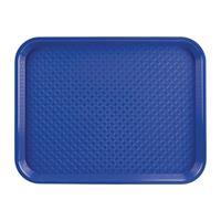 dienblad plastic 305 x 415mm blauw