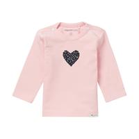 Noppies Shirt Lange Mouw - Lichtroze - Katoen/elasthan