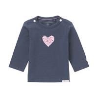 Noppies Shirt Lange Mouw - Donkerblauw - Katoen/elasthan