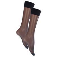 Oroblu Mi-bas lycia kniekous 15 denier one size black 1pr