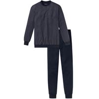 Schiesser - Pyjama Donkerblauw Dark Sapphire