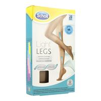 Scholl Light Legs 20d Beige M (1st)