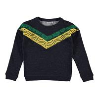 Name it !Sweater - Donkerblauw - Katoen/polyester/metaal