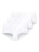 Schiesser 3-Pack Basic Shorts Wit