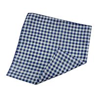 Fiftiesstore Bandana Gingham Navy/White