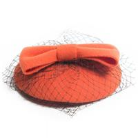 Fiftiesstore Bonny Fascinator Orange