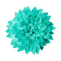 Fiftiesstore Large Chrysanthemum Teal