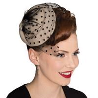 Fiftiesstore All A Dream Fascinator Nude