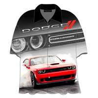 Fiftiesstore Cars Shirt Dodge Challenger
