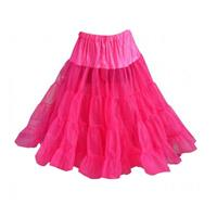 Fiftiesstore Petticoat model 640, Raspberry