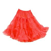 Fiftiesstore Petticoat model 640, Rood