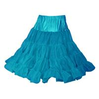 Fiftiesstore Petticoat, model 640, Peacock