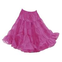 Fiftiesstore Petticoat model 640, Berry Pink
