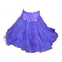 Fiftiesstore Petticoat, model 640, 25'/23', Purple
