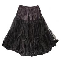 Fiftiesstore Petticoat Soft Model 835 Black