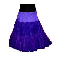 Fiftiesstore Petticoat Soft model 835 Paars