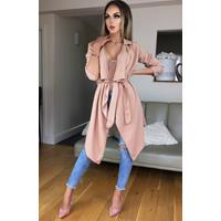 Exclusivepremium Annabelle Waterfall Jacket Camel