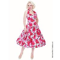 Wild Rose Dress Cerise