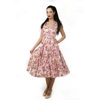 China Rose Dress Roze