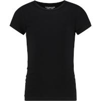 Retour Jeans Shirt Korte Mouw - Zwart - Katoen/elasthan