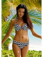 LASCANA Push-up-bikinitop met rugsluiting