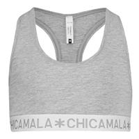 Muchachomalo Chicamala racer back top grijs