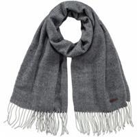 Barts Soho fijngebreide sjaal met visgraatdessin 180 x 60 cm