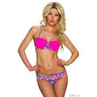 Hellobikini Bikini Fuchsia
