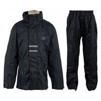 Ralka Regenpak Junior Unisex Zwart