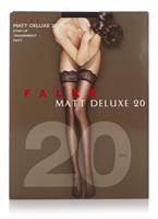 Falke Matt Deluxe stay-ups in 20 denier black