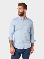 Tom Tailor Heren Overhemd - Licht Blauw - S