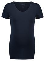 Noppies zwangerschaps T-shirt Berlin donkerblauw