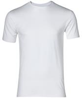 Nils T-shirt Rond - Extra Lang - Wit