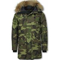 Y Chromosome Parka Jas -