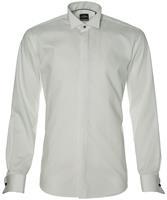 Jac Hensen Smoking Overhemd-extra Lang-wit
