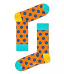 Happy Socks-Sokken-Big Dot Socks-Zwart
