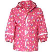 Playshoes Regen Set Sterren roze - Roze/lichtroze - - Meisjes