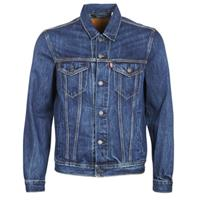 Levi's original - Denim truckerjack in mid wash-Blauw