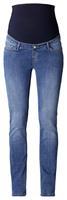 Esprit Omstandigheid Denim rechte, middelzware waslengte 32 - Blauw - Meisjes