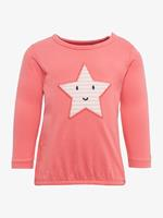 TOM TAILOR Girl s lange mouw shirt ster, koraal