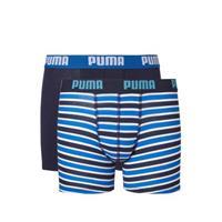 Puma Boxershort Printed Stripe Boys Blue 128
