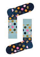 Happy Socks Sokken big dot block blauw