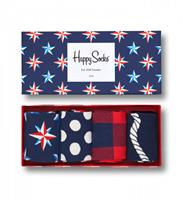 Happy Socks Giftbox 4-pack Nautical
