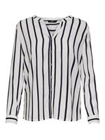 Only Loose Fit Overhemd Met Lange Mouwen Dames White