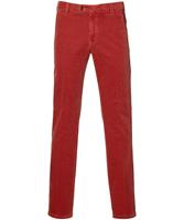 Meyer Pantalon Bonn - Modern Fit - Rood