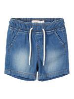 name it Shorts Nbmryan licht blauw denim